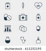 vector illustration of 12... | Shutterstock .eps vector #611252195