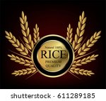 gold medal vector design ... | Shutterstock .eps vector #611289185