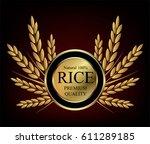 gold medal vector design ... | Shutterstock .eps vector #611289185