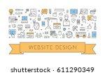 line concept for website design....