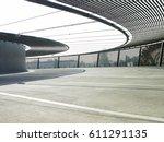 unique modern parking building. | Shutterstock . vector #611291135