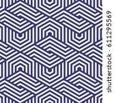 vector pattern. repeating... | Shutterstock .eps vector #611295569