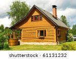 Wooden House For Rest With A...