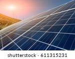 china 's tibet plateau solar... | Shutterstock . vector #611315231