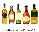 Colorful Alcohol Bottle Set...