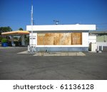 Old Abandoned Gas Station...