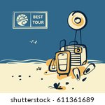 freehand drawn concept image... | Shutterstock .eps vector #611361689