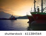 Cargo Ship Transport And...