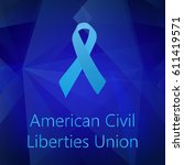 american civil liberties union... | Shutterstock .eps vector #611419571