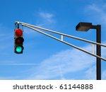 Traffic Lights On The Sky