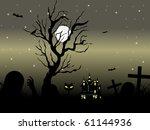 vector illustration of happy... | Shutterstock .eps vector #61144936