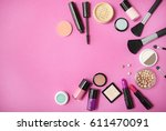 make up and cosmetic beauty... | Shutterstock . vector #611470091