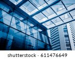 urban abstract   windowed... | Shutterstock . vector #611476649