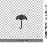 flat illustration. umbrella...