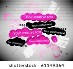 abstract creative banner | Shutterstock .eps vector #61149364