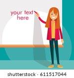 presentation | Shutterstock .eps vector #611517044