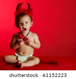 Adorable Baby Dressed Up Like ...