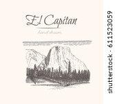 El Capitan. Yosemite. Sketch O...