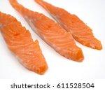salmon | Shutterstock . vector #611528504