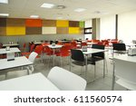 Stock photo cafeteria 611560574
