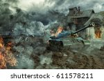 The Battle Of Tanks At An...