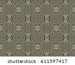 stone patterns. abstract... | Shutterstock . vector #611597417