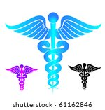 medical signs | Shutterstock .eps vector #61162846