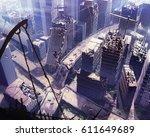 digital illustration of...   Shutterstock . vector #611649689