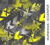 abstract seamless boys... | Shutterstock .eps vector #611656919