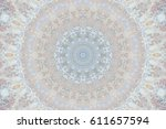 abstract colorful painted... | Shutterstock . vector #611657594
