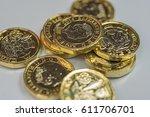 New British One Pound Coins Up...