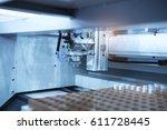 artificial intelligence machine ... | Shutterstock . vector #611728445