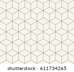sacred geometry grid graphic deco hexagon pattern | Shutterstock vector #611734265