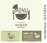 business cards design. frame...   Shutterstock .eps vector #611738141