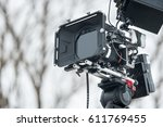 professional  camera with... | Shutterstock . vector #611769455