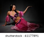 Beautiful Sexy Dancer Woman In...