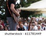 outdoor concert | Shutterstock . vector #611781449