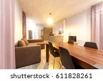 scandinavian minimalistic... | Shutterstock . vector #611828261