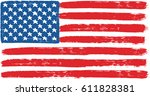 united states of america or usa ... | Shutterstock .eps vector #611828381