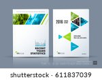 business vector template.... | Shutterstock .eps vector #611837039