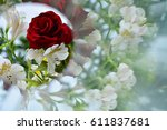 Abstract Background  Flowers ...
