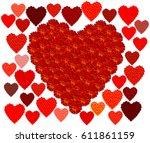 Marigold Red Heart   Hearts....