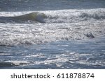 waves on ocean | Shutterstock . vector #611878874