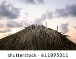 cabana top | Shutterstock . vector #611895311