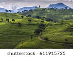 pangalengan is a district in...   Shutterstock . vector #611915735