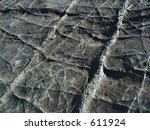 black chert showing prominent... | Shutterstock . vector #611924