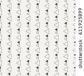 the seamless abstract pattern.... | Shutterstock . vector #611925899