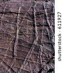 black chert showing prominent... | Shutterstock . vector #611927