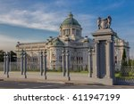 ananta samakhom throne hall at... | Shutterstock . vector #611947199