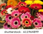 Bouquet Of Gerberas.yellow And...